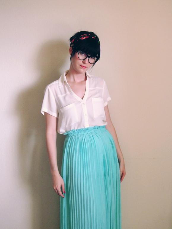 outfit-mintskirt